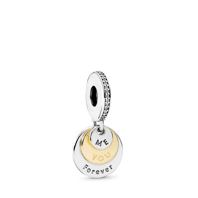 You & Me Forever Pendant Charm