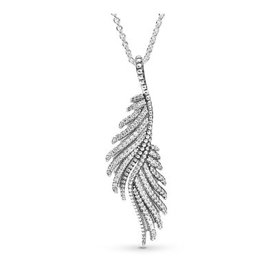 Majestic Feathers Necklace