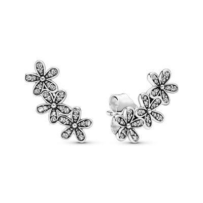Dazzling Daisy Clusters Stud Earrings