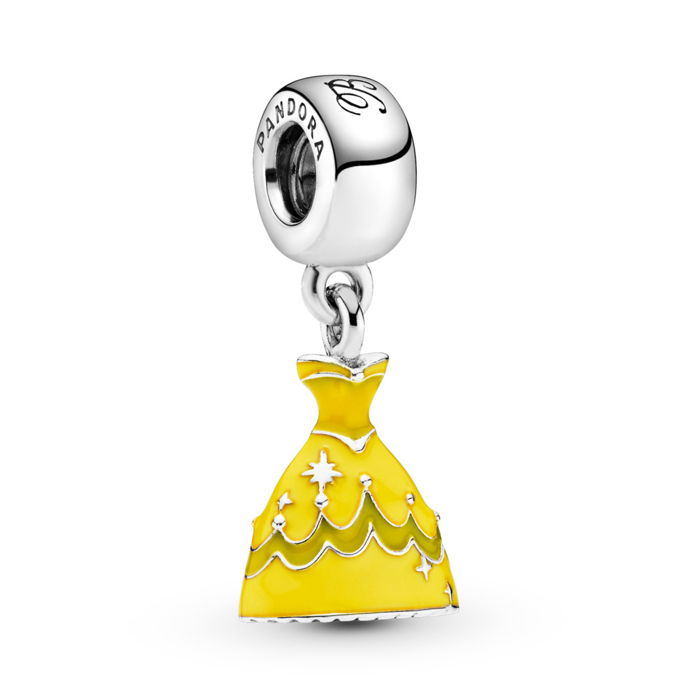 Disney, Belle's Dress Pendant Charm