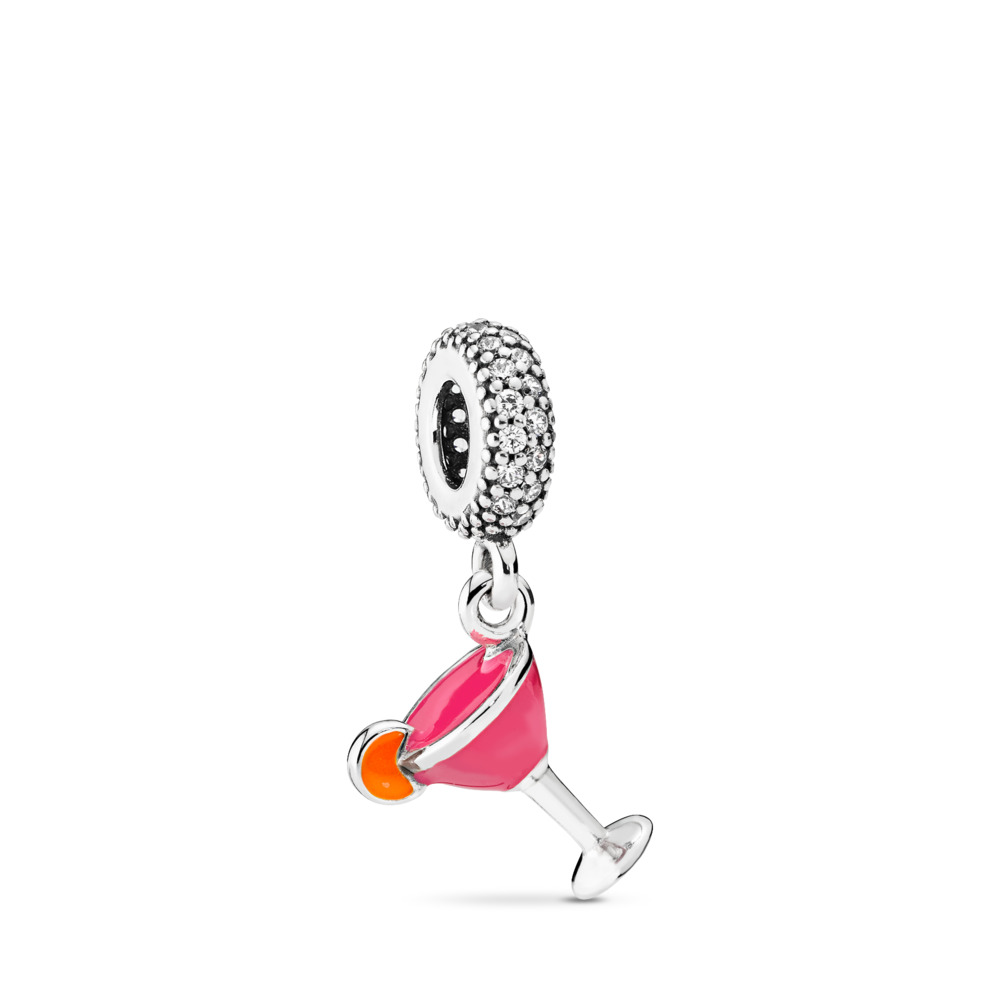 Fruity Cocktail Pendant Charm