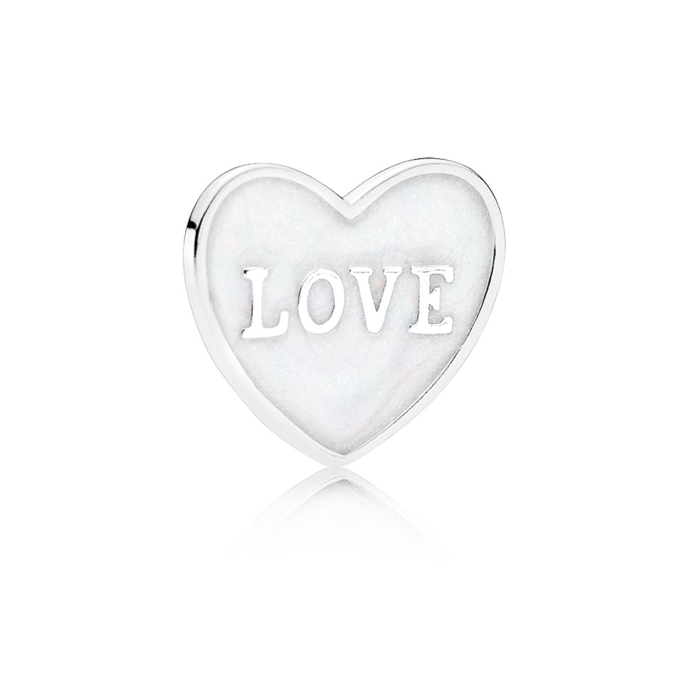 Love Heart Locket Plate - Small