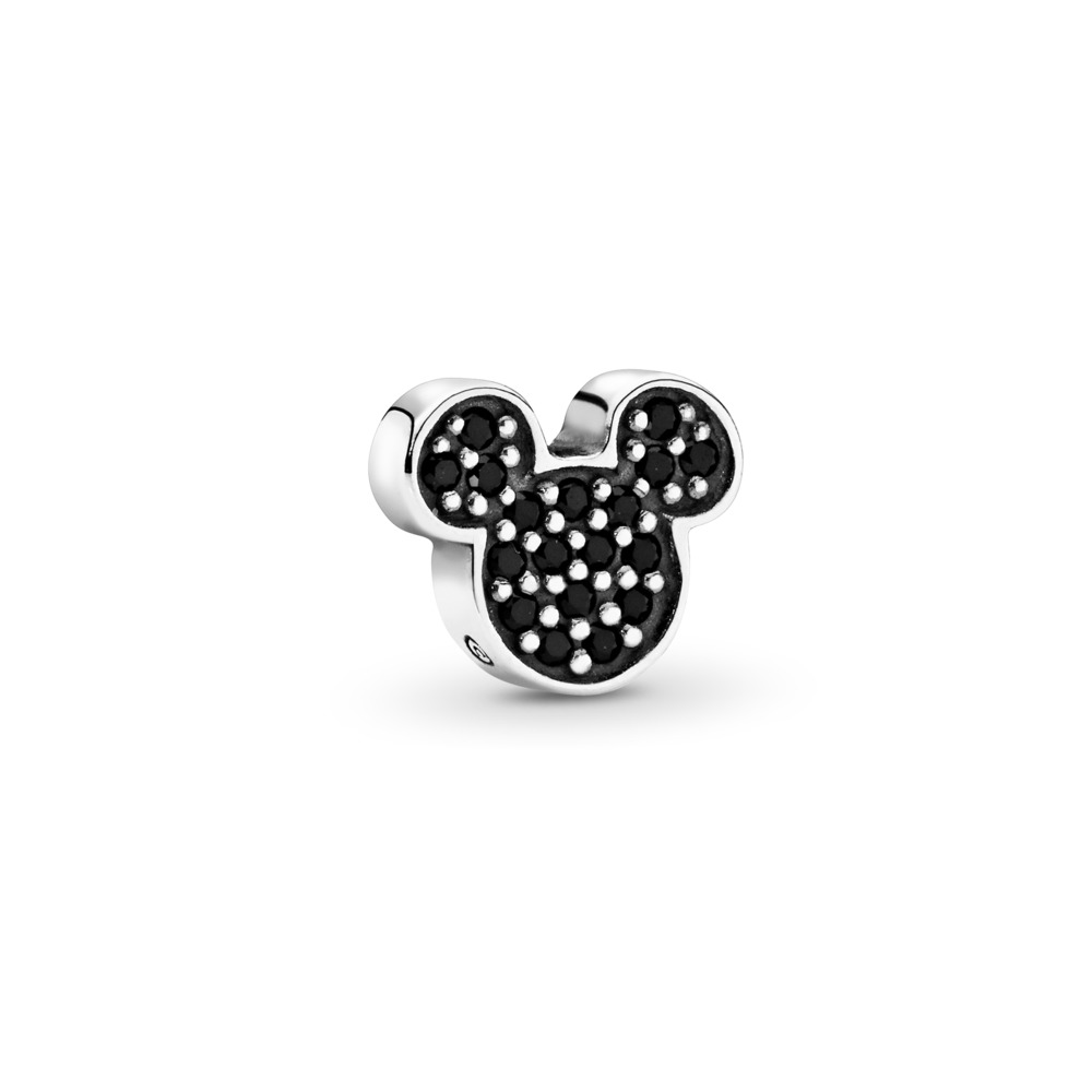 Disney, Sparkling Mickey Icon Petite Locket Charm