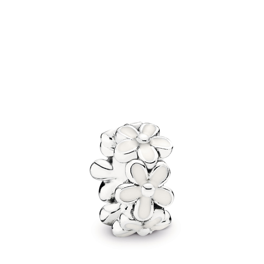 Darling Daisies Spacer Charm