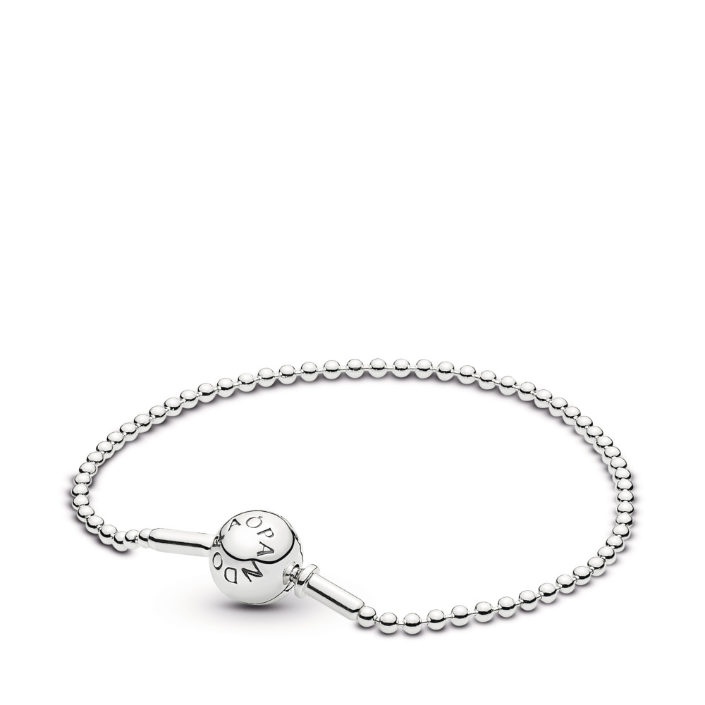 ESSENCE Silver Ball Chain Bracelet