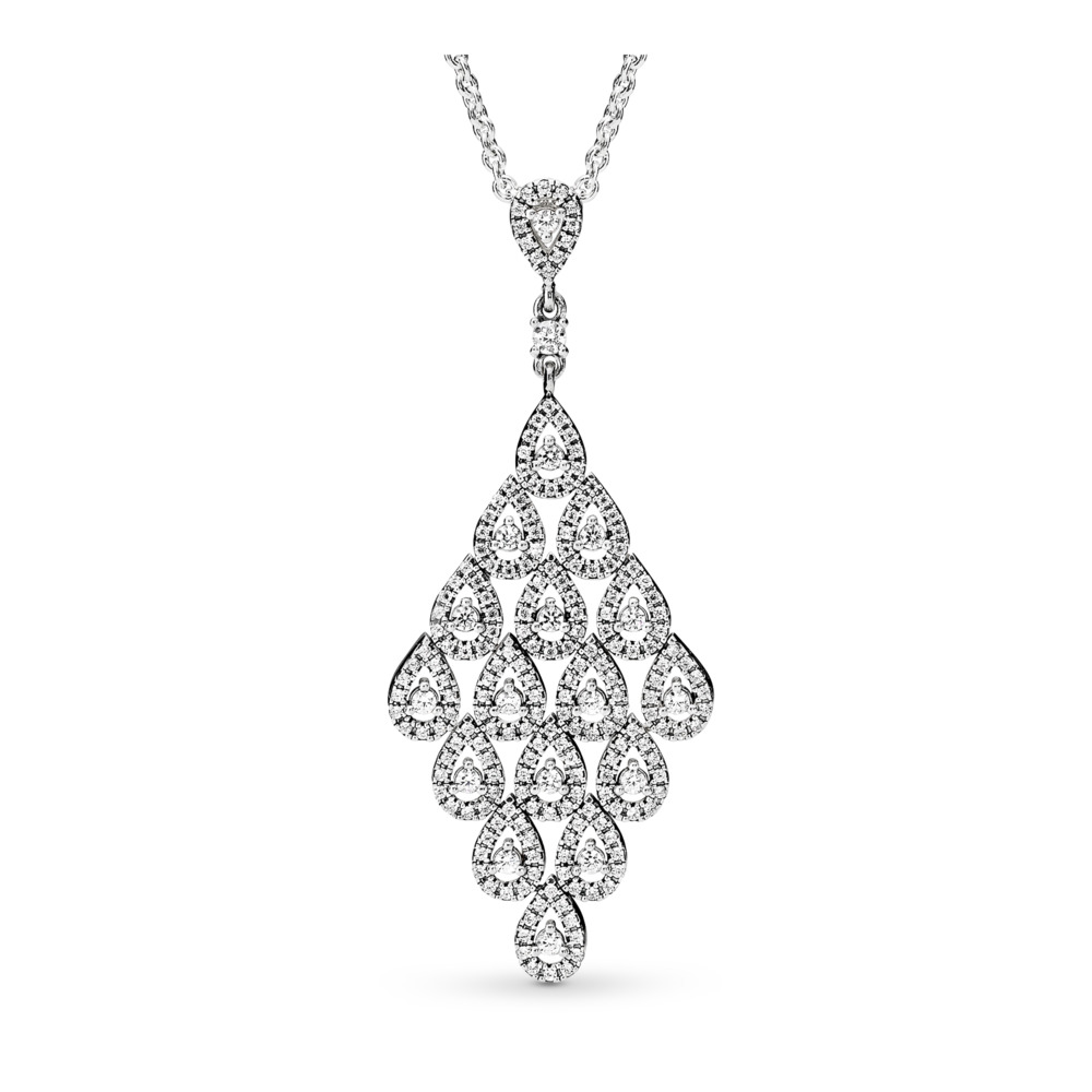 Cascading Glamour Necklace