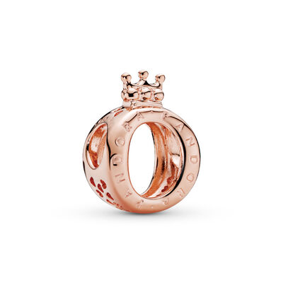 PANDORA Rose Crown O Charm