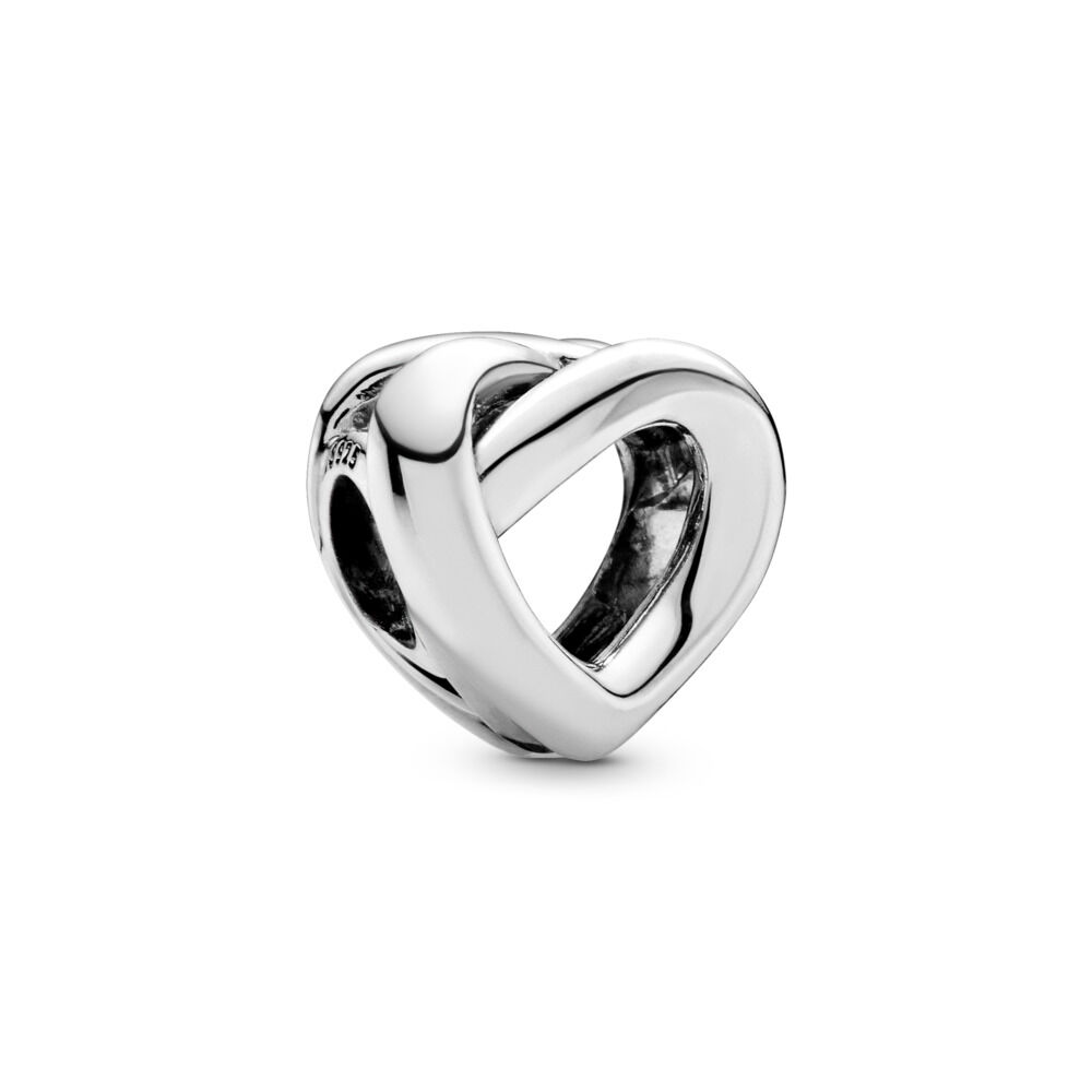b81899bc7 Knotted Heart Charm, Sterling silver – Shop PANDORA GB