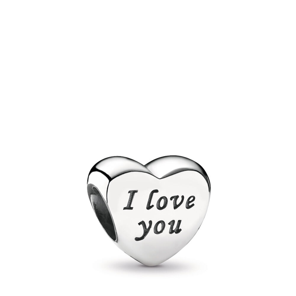 Words of Love Charm, Sterling silver – Shop PANDORA GB