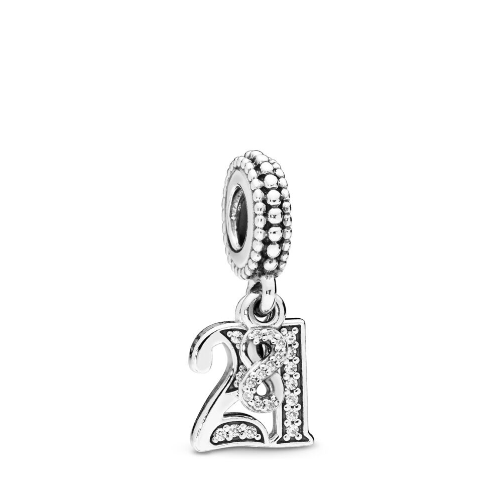 hzs bling clear jewelry white pandora charm enamel bead crystal silver infinity fits charms sterling pbx