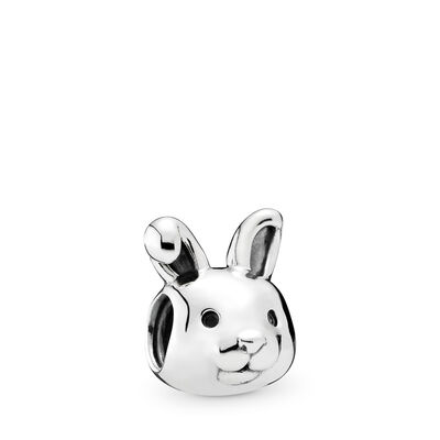 Remarkable Rabbit Charm, Sterling silver - PANDORA - #791838