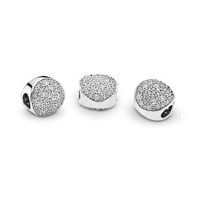 Pave Sphere Charm