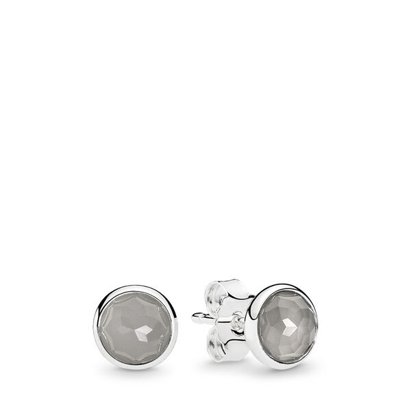 Pandora - June Droplets Stud Earrings - 1