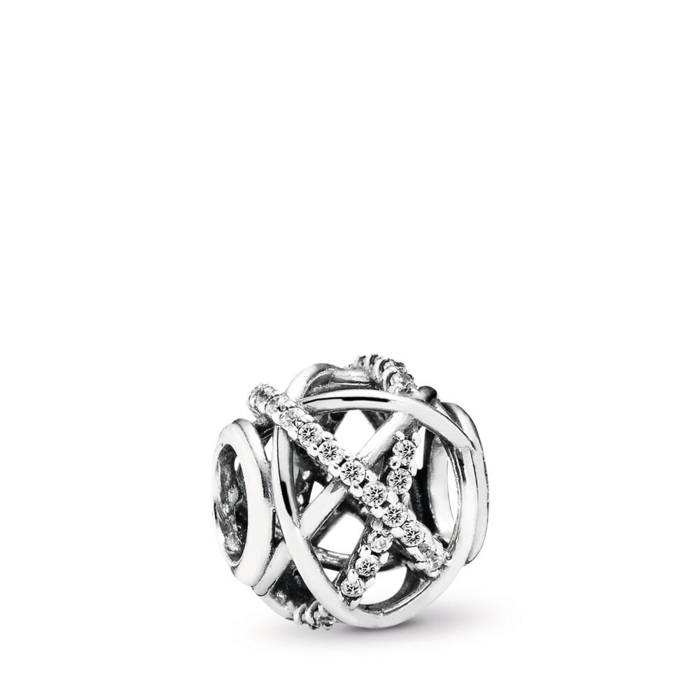 us infinity en ring stackable jewelry pandora cz clear diamond
