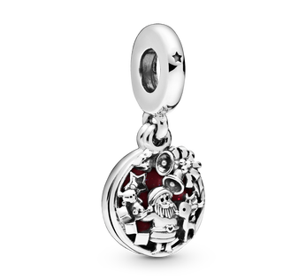 Santa Love Peace Joy Dangle Charm
