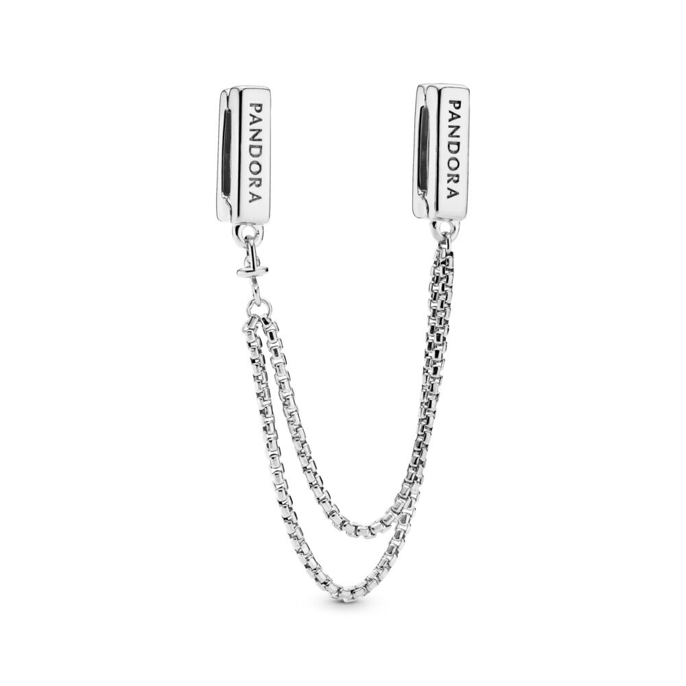 Pandora Reflexions Floating Safety Chain Sterling Silver