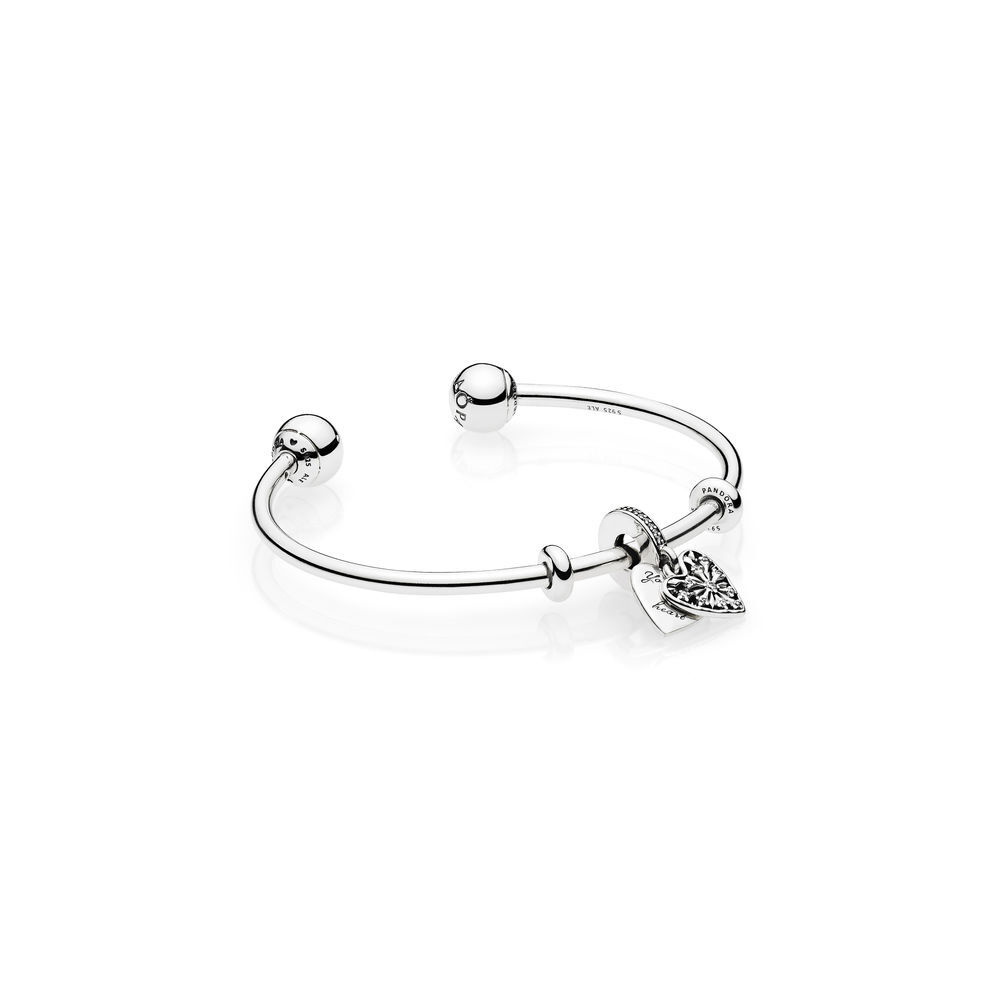 pandora open to bangles bracelet us en zoom mouseover a image how bangle jewelry