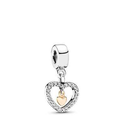 Forever In My Heart Charm
