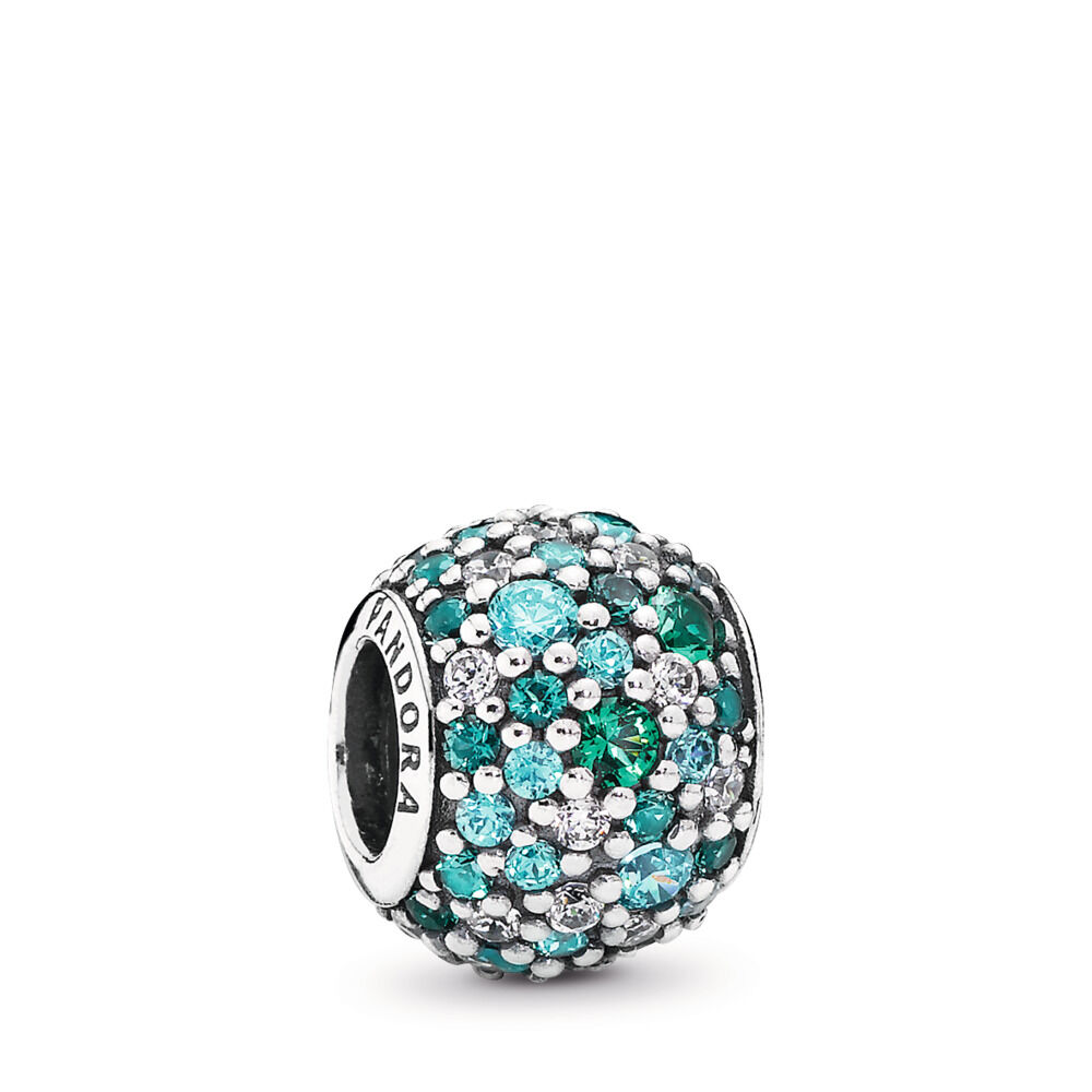 aa148dadb ... coupon code ocean mosaic pavé ball charm 51871 35f35 top quality custom pandora  charms pandora spacers charms eternity spacer sky blue ...