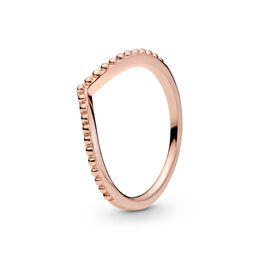 Beaded Wish Ring, PANDORA Rose - PANDORA - #186315