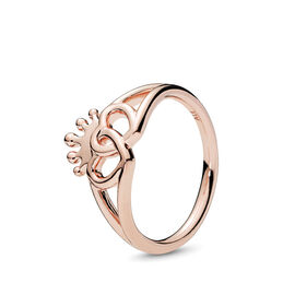 United Regal Hearts Ring, PANDORA Rose - PANDORA - #187685