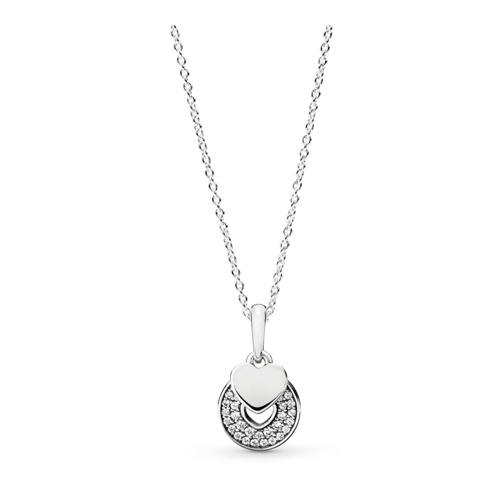 Celebration hearts necklace pandora uk pandora estore celebration hearts necklace aloadofball Image collections
