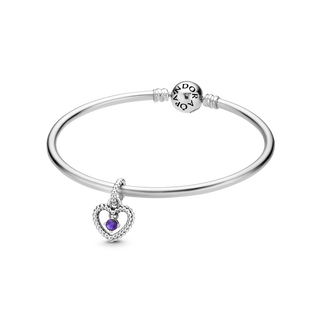 February Birthstone Bangle Gift Set