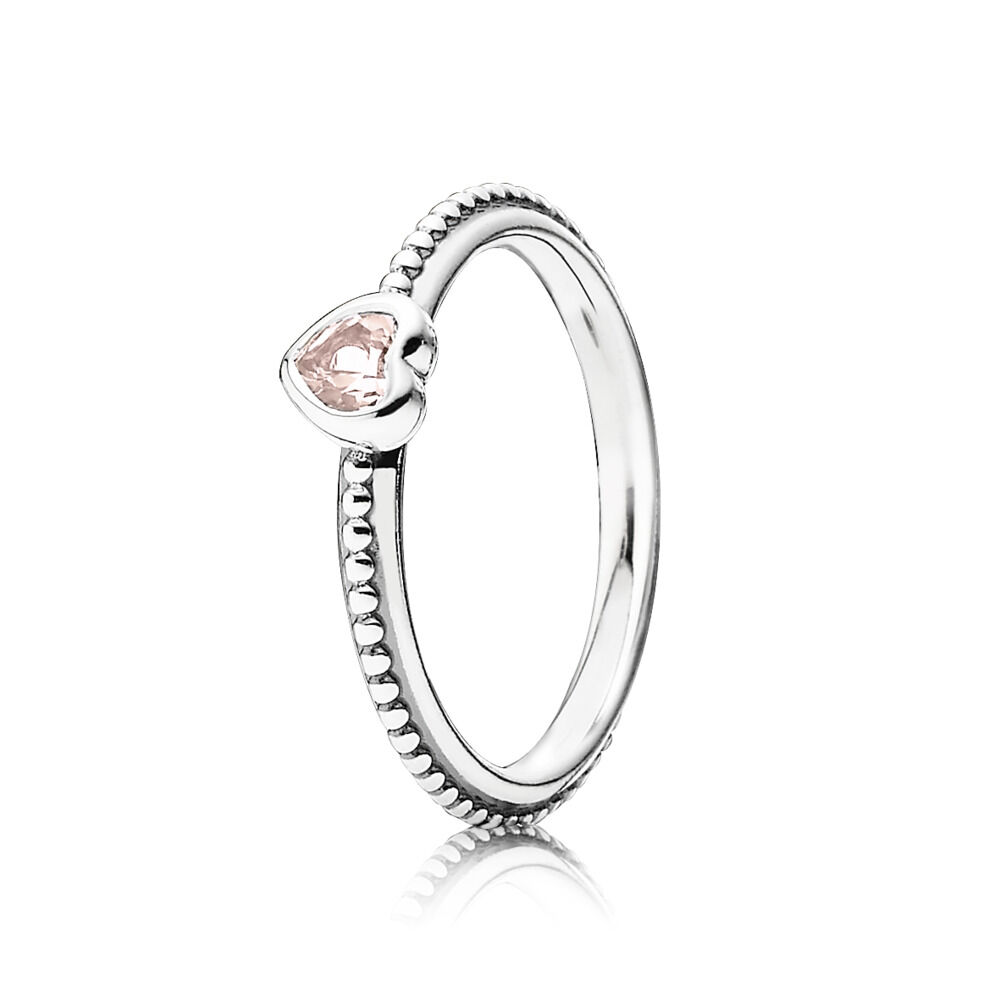 silver pink style with engagement sterling from in fashion item compatible ring rings delicate heart jewelry pandora cz
