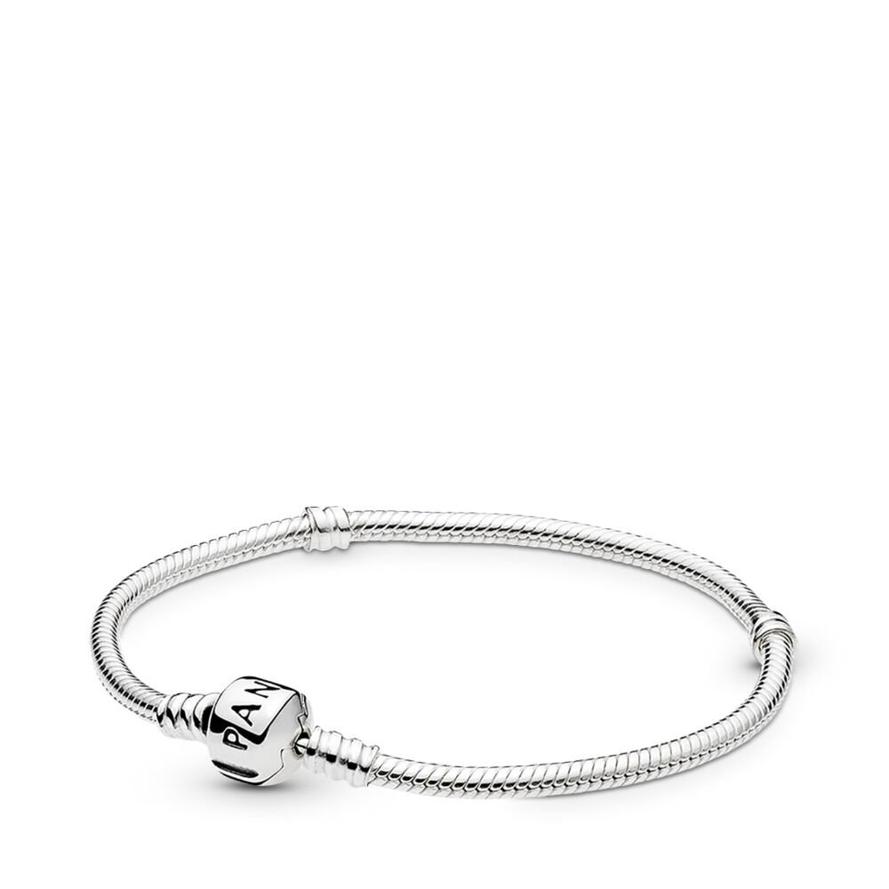 Moments Sterling Silver Charm Bracelet - Barrel Clasp 03e3c38c8