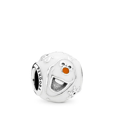 PANDORA Jewelry Disney | Olaf Charm | Mixed Enamel | Sterling Silver