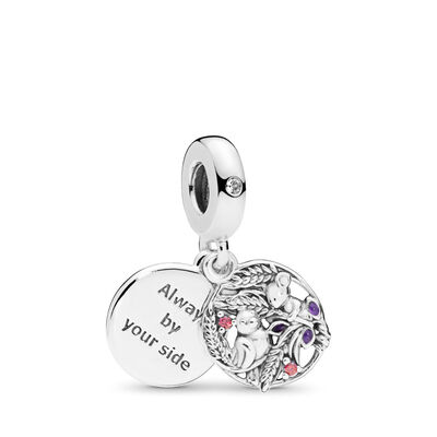 Always By Your Side Pendant Charm