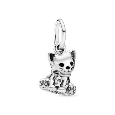 Kitty-Cat Dangle Charm
