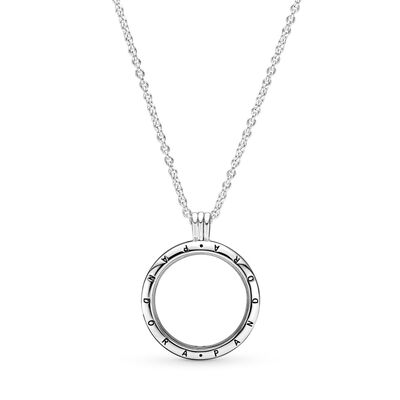 Pandora floating locket necklace large sterling silver glass pandora floating locket necklace large sterling silver glass pandora 590530 aloadofball Image collections