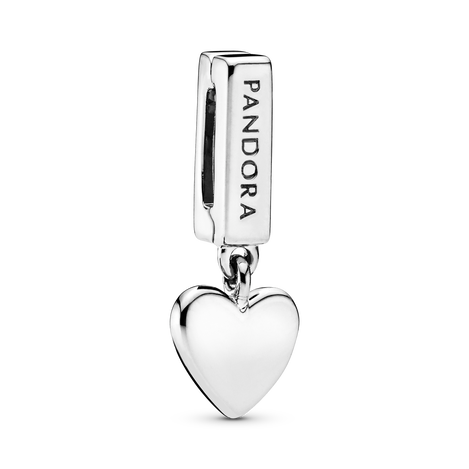 Heart Dangle Clip Charm
