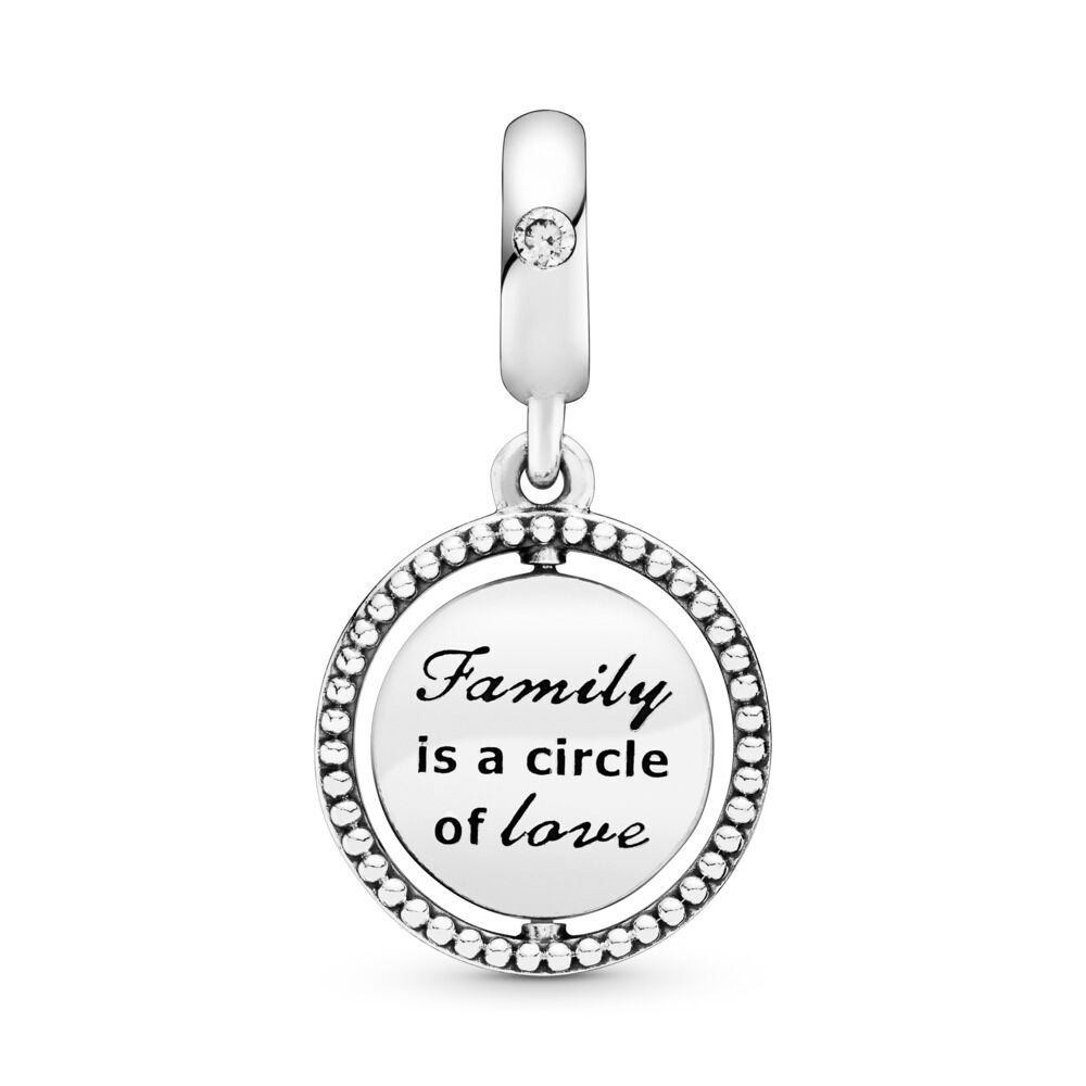 Spinning Pandora Tree Of Life Pendant Charm Sterling