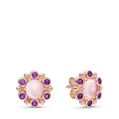 Heraldic Radiance Stud Earrings