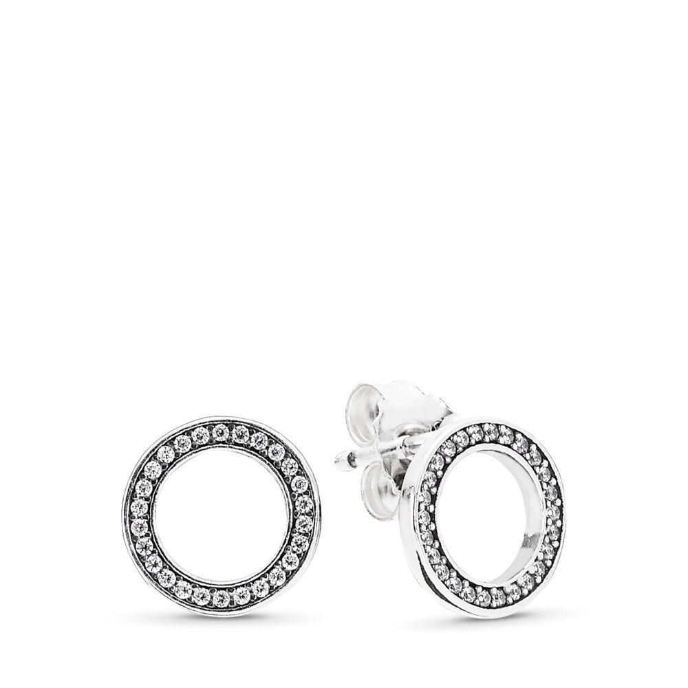 ladies pandora earrings