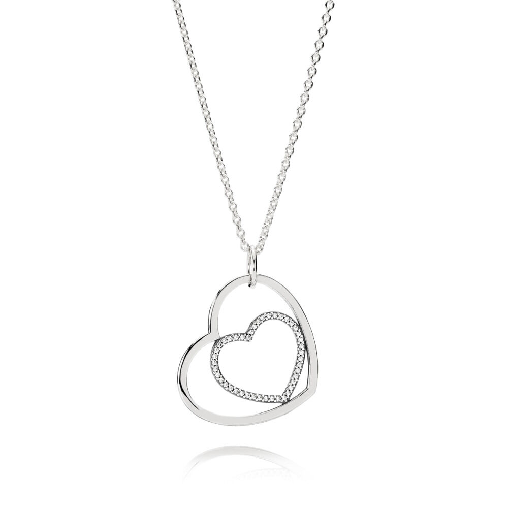 Forever in my heart pendant necklace pandora uk pandora estor forever in my heart pendant necklace aloadofball Choice Image
