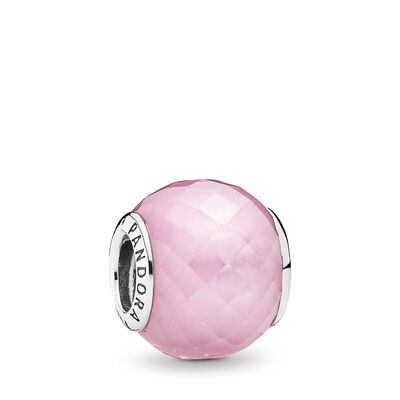 Pink Petite Facets Charm
