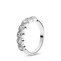 Alluring Cushion Ring, Sterling silver, Cubic Zirconia - PANDORA - #191019CZ