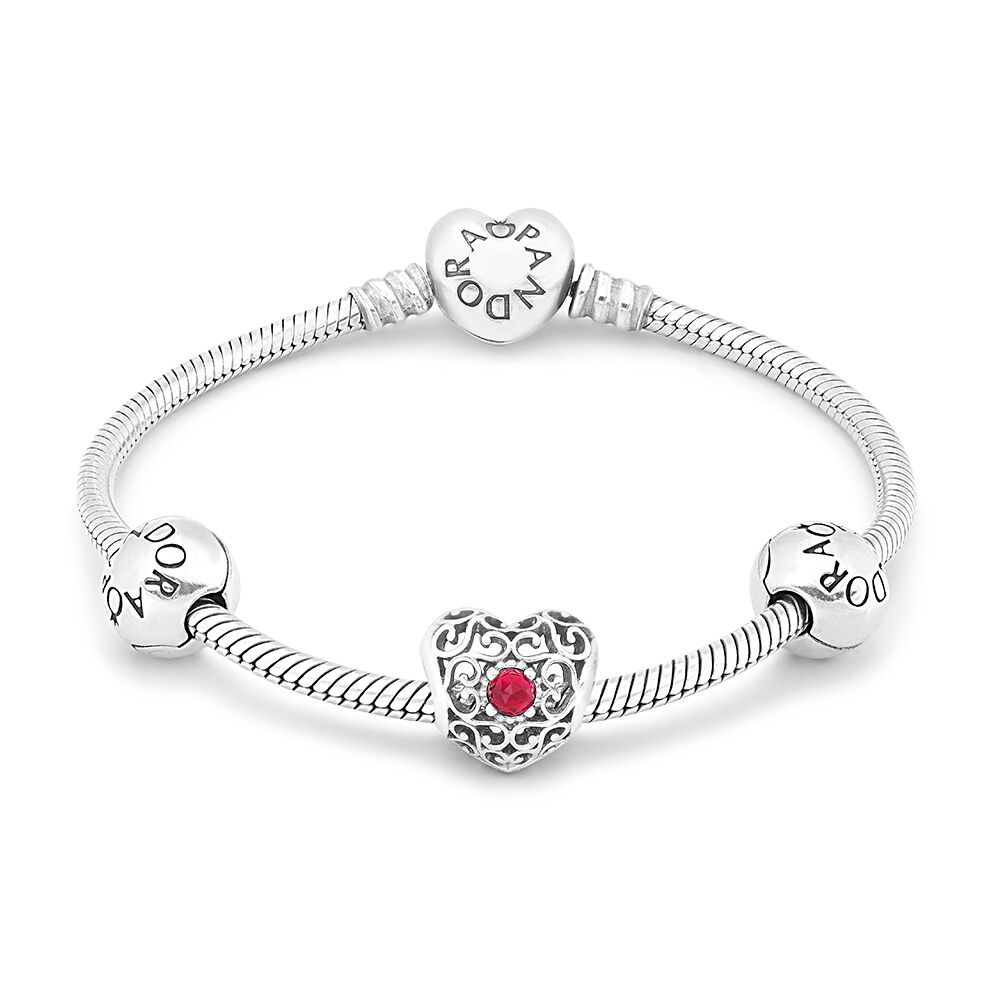 July Birthstone Bracelet Shop Pandora Gb