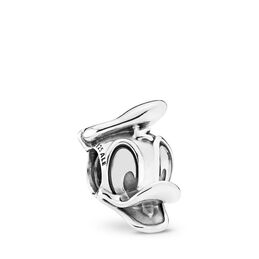 Disney, Donald Duck Portrait Charm, Sterling silver - PANDORA - #792136
