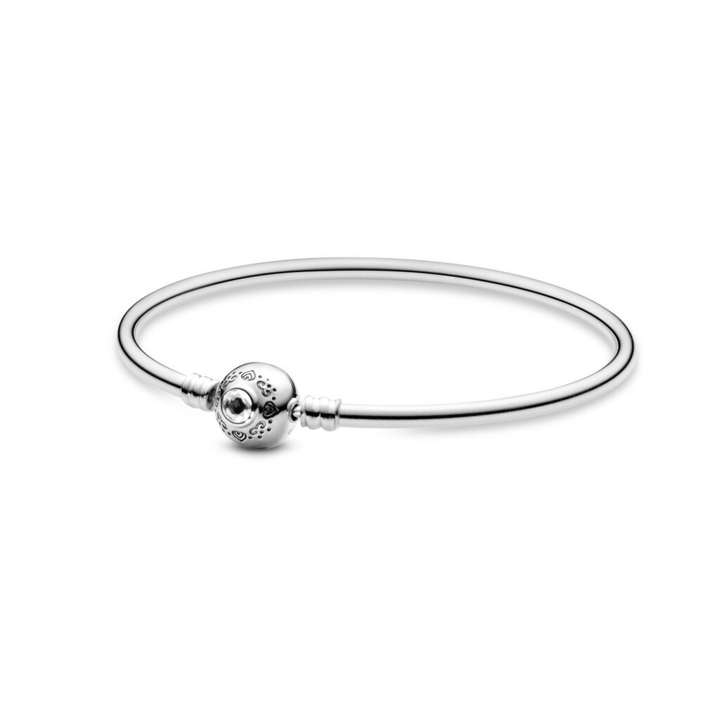 7366a33af Disney, Princess Jasmine and Aladdin Bangle, Sterling silver, Cub