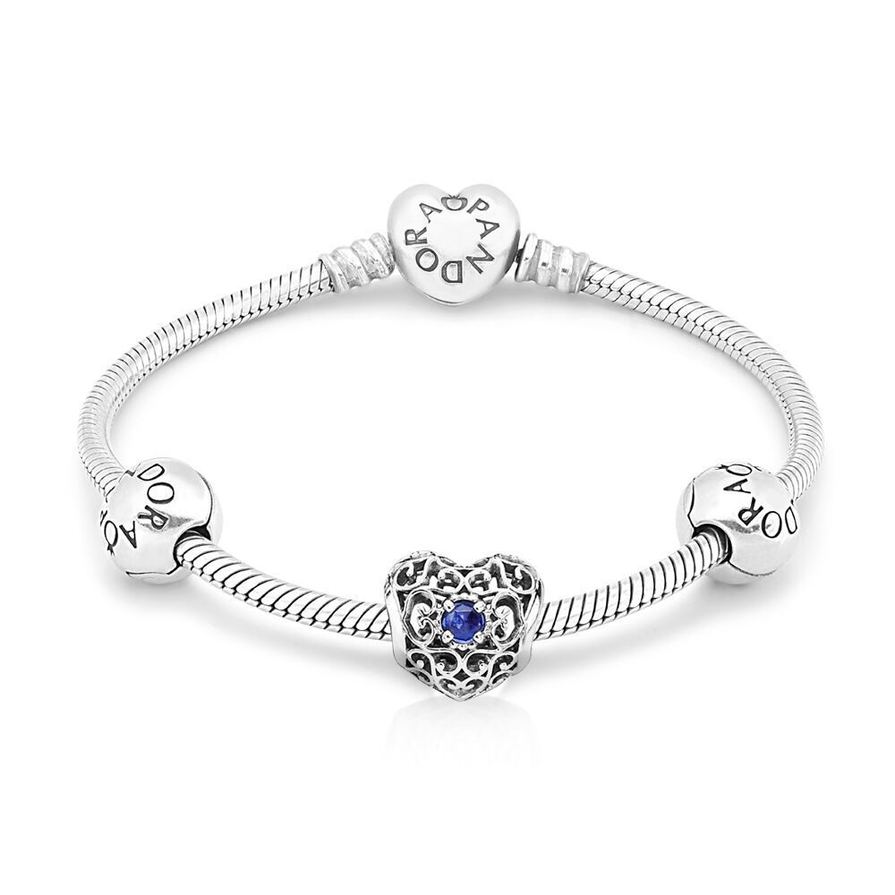 September birthstone bracelet pandora uk pandora estore september birthstone bracelet aloadofball Gallery