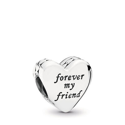 Mother & Friend Charm, Sterling silver - PANDORA - #791518