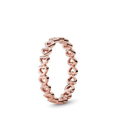 Linked Love Ring, PANDORA Rose - PANDORA - #180177