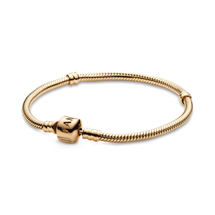 Pandora Moments 14K Gold Snake Chain Bracelet