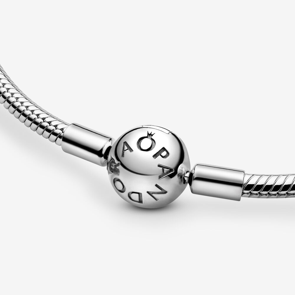 Pandora Moments Snake Chain Necklace Sterling Silver