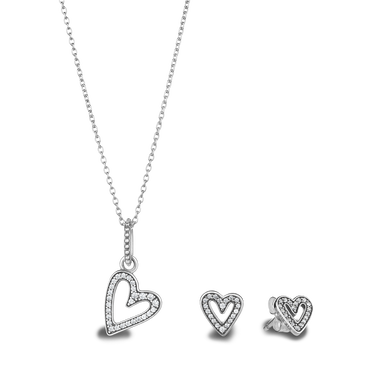 Sparkling Free Heart Gift Set
