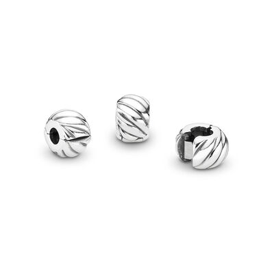 Feathered Clip, Sterling silver - PANDORA - #791752